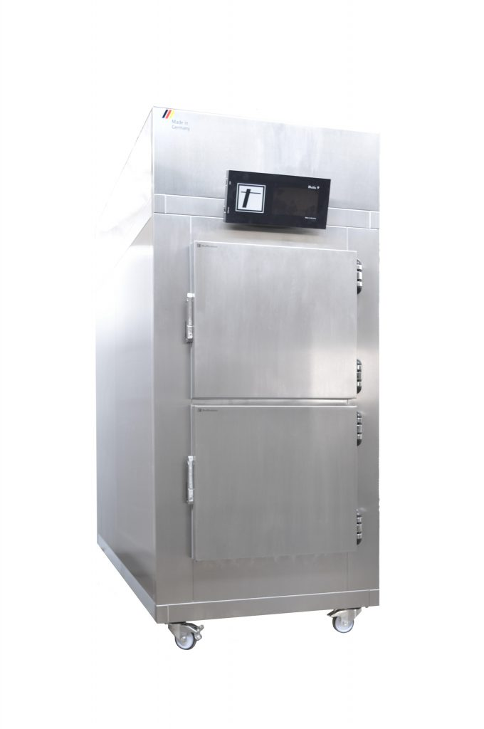 2 Cells / 2 Cadavers Mortuary refrigerator - freezer