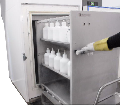 pharmaceutical shock freezer