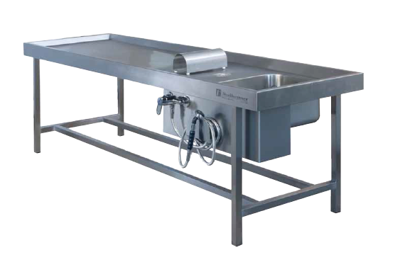 ADT-260-W Autopsy dissecting table